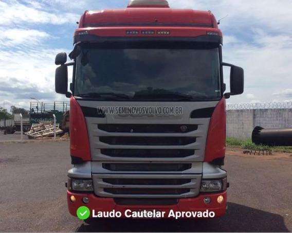 Scania R-440 A 6x4 Highline Optcruise 2013/2014 Vermelha