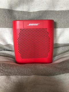 Parlante Bose Color Soundlink Rojo