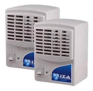 Purificador Ionizador E Ozonizador De Ar 1,5w Kit 2 Unidades