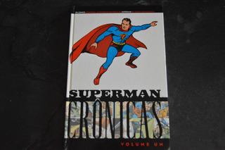 Superman Crônicas Volume Um Hq Livro