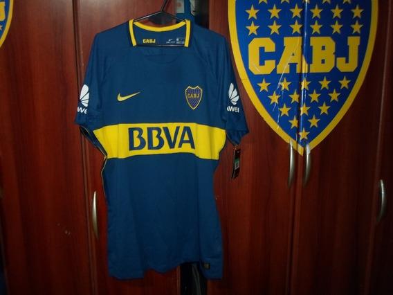 Camiseta Slim Fit Boca Juniors Temporada 2017-18