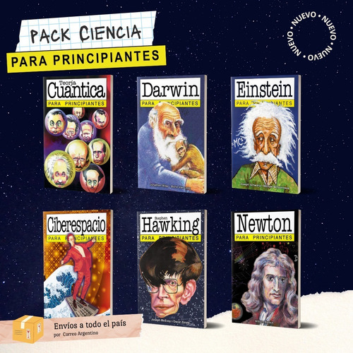 Pack De Ciencias - Libros Para Principiantes