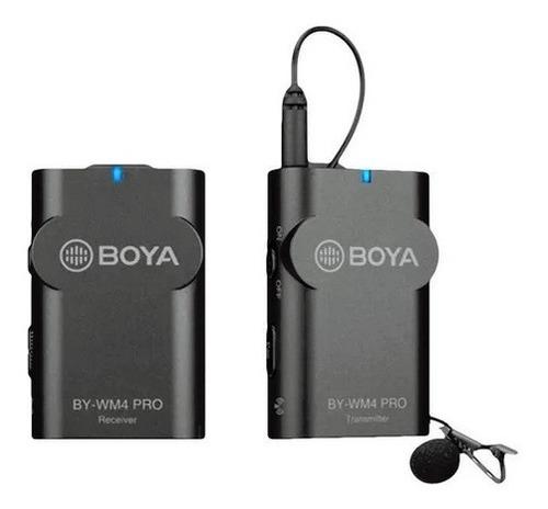 Microfone Boya By-wm4 Pro K1 P/ Câmera Dslr Vlog