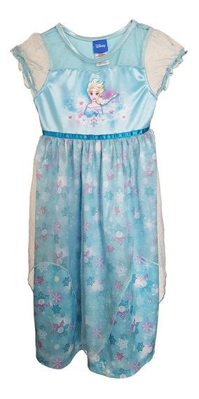 Disfraz Vestido Elsa De Frozen Talla 4-años Niña D-51