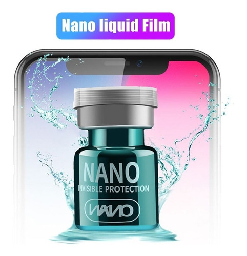 Protector Pantalla Nano Glass Liquido 2 Unidades 1.5ml