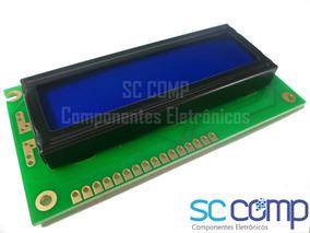 3pçs Display Lcd 16x2 Azul Com Backlight 1602