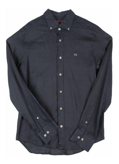 Camisa Etro De Lino Para Hombre Talla 42