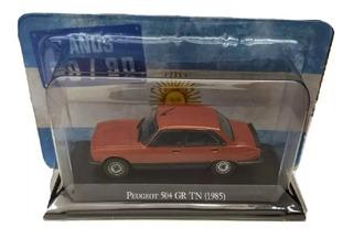 Autos Inolvidables Argentinos Años 80/90 N° 10 Peugeot 504