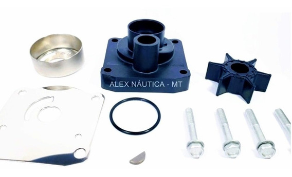 Bomba D Agua Completa Motor Yamaha 25 Hp Vm/bm Mj Nautica Mt