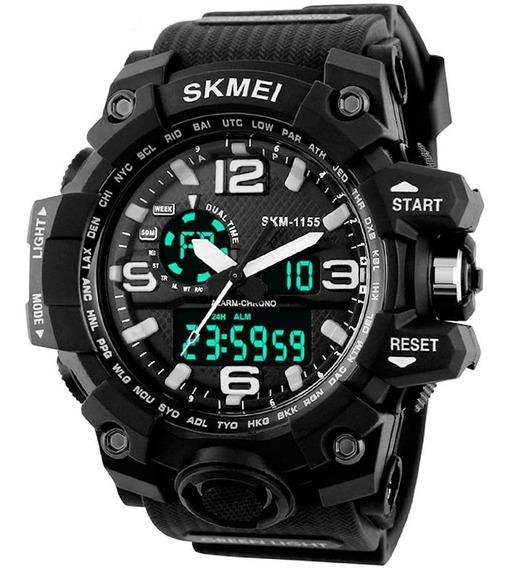 Reloj Skmei Digital Y Análogo Militar Deportivo Para Hombre