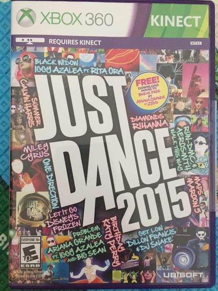 Jogo Xbox 360 Just Dance 2015 Kinect Mídia Física Original
