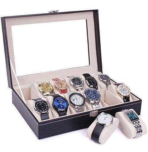 Case Porta Relojes De 12 Unidades Envio Gratis