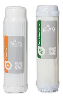 Pack Doble Núcleos Ultrabacter As Cloro Virus Bacterias