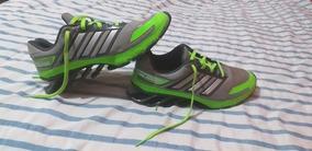 Tênis adidas Springblade E-force Cinza E Verde