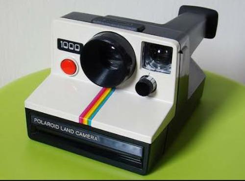 Câmera Polaroid 1000 Peça De Colecionador Nunca Usada