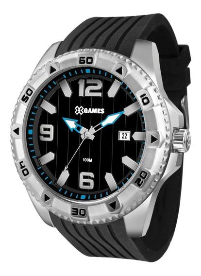 Relógio X-games Masculino Analógico Xmsp1014 P2px Aço