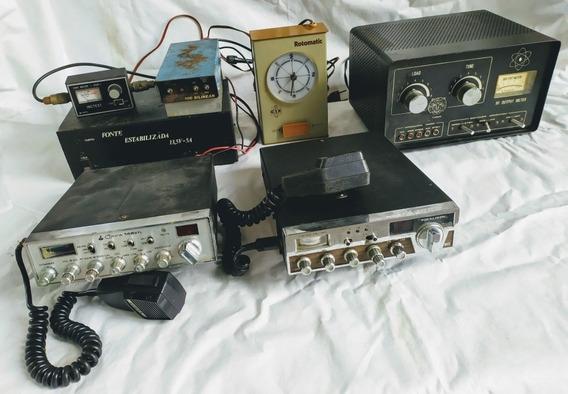 Equipamentos Rádio Amador (lote)