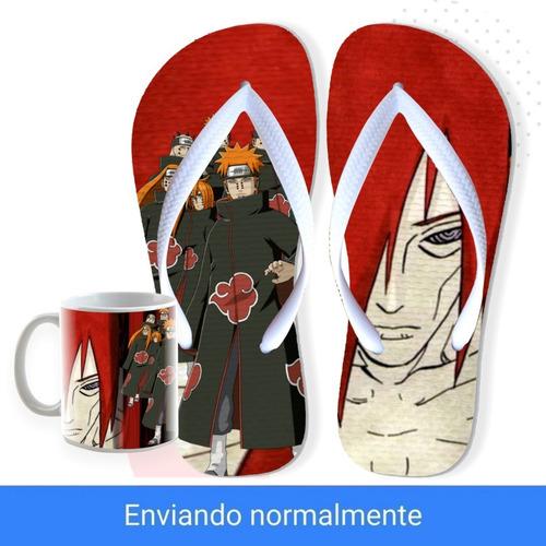 Chinelo Akatsuki Pain Nagato Envio 24 Hr Shinobi Geek Naruto