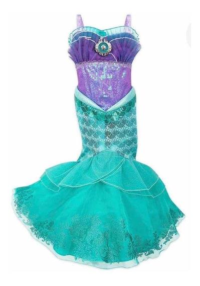 Vestido La Sirenita Original Disney Store!