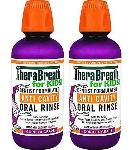 Therabreath For Kids Dentist Recomendado Fluoruro De Caries