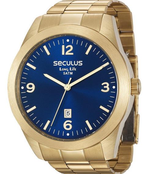 Relógio Seculus Masculino Original Barato Com Nfe