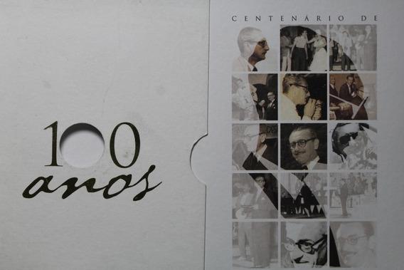 Brasil Moeda De Ouro De 2003 Centenário Ary Barroso Folder