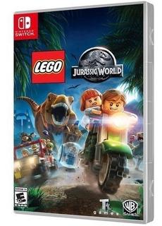 Lego Jurassic Switch 100% Em Português Mídia Física