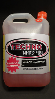 Trc Combustible Glow Para Autos R/c 16% Nitro X 2 - Techno