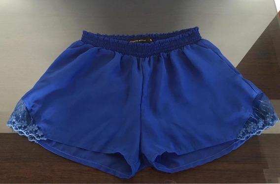 Short Azul Talle 40