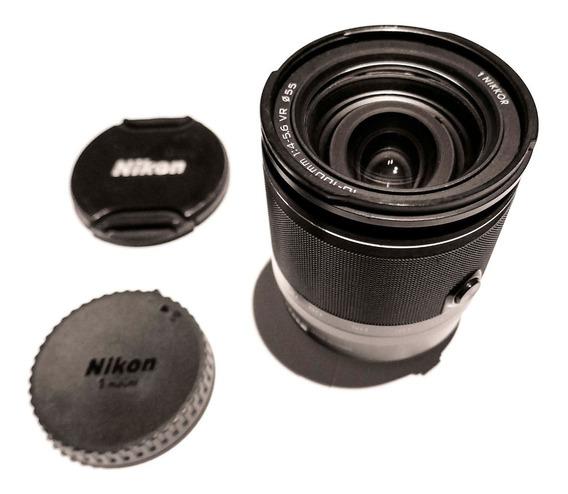 Lente Nikon 1 Nikkor 10-100mm Com Defeito - Ler Descrição