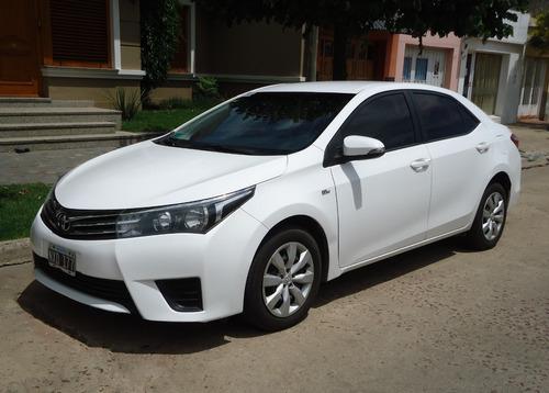 Unico Dueño. Kilómetros Reales. Vendo Toyota Corrolla 2014.