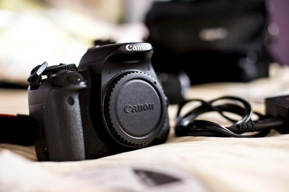 Câmera Canon T4i Dsrl + Grip + 3 Baterias + Bag + Porta Card