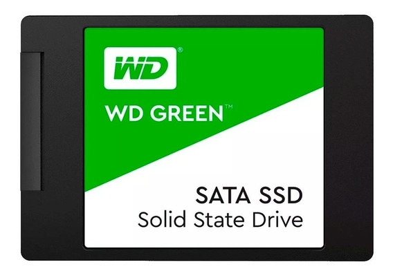 Hd Ssd 120gb Western Digital Green Sata 2.5 Pc Notebook