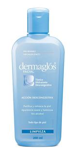 Dermaglós Tónico Hidratante Descongestivo 200 Ml