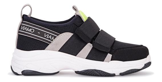 Zapatillas Mujer Chiyaka Negro Viamo