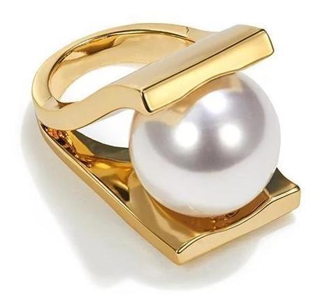 Huge Pearl Ring