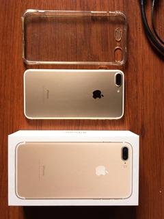 iPhone 7 Plus Gold 128gb De Almacenamiento Libre De Icloud