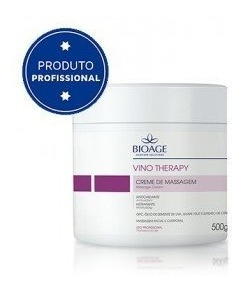 Creme Massagem Vino Therapy 500g - Bioage