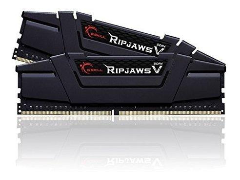 Memoria Ram 16gb G.skill (2 X 8gb) Ripjaws V Series Ddr4 Pc4-25600 3200mhz Modelo F4-3200c16d-16gvkb