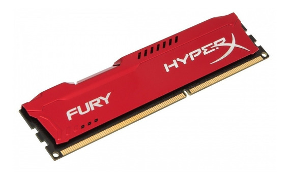 Memoria P/pc Hyperx Fury Ddr3 4gb 1866mhz Red Hx318c10fr/4