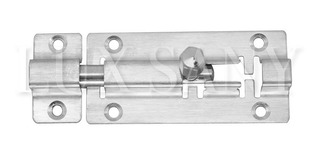 Lux Sany Set 10 Pasadores Tipo Mauser Acero Inox. 3 Inches