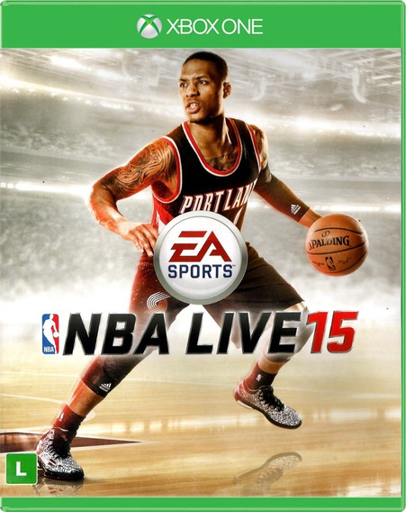 Game Xbox One Nba Live 15 - Original - Novo - Lacrado