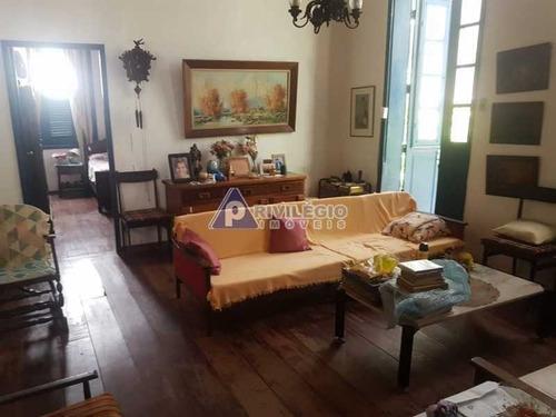 Casa De Vila À Venda, 3 Quartos, 3 Vagas, Botafogo - Rio De Janeiro/rj - 2389