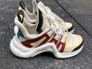 Tenis Louis Vuitton Ugly Sneakers
