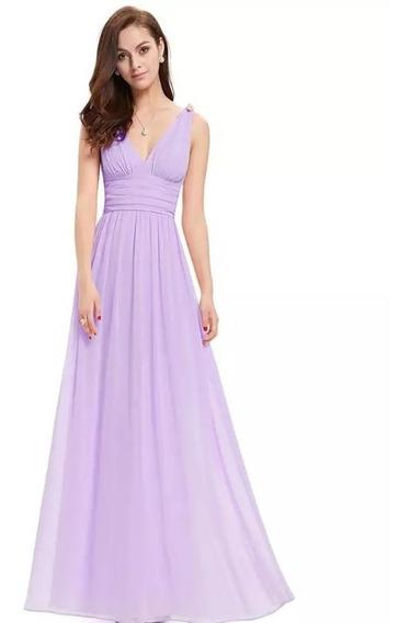 Vestido Noche Varios Colores Disp. Tallas Extra Ep-ep0916