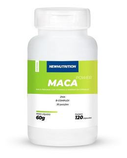 Maca Peruana Power Newnutrition 120 Cápsulas