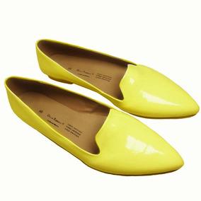 Zapato Flat Clásica Color A Elegir Marca Delia Torres