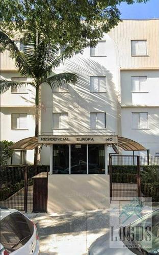 Imagem 1 de 13 de Apartamento Com 3 Dormitórios À Venda, 70 M² Por R$ 265.000,00 - Centro - Diadema/sp - Ap1099
