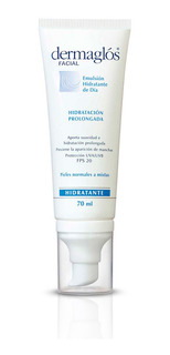 Dermaglos Emulsion Facial Hidratante Fps 20 X 70 Ml