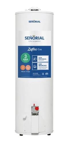 Termotanque Señorial Zafiro 160 Lts Gas Apoyar Center Hogar